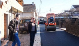 Нов асфалт за улиците во Долно Оризари