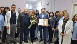 Семејството Ковачевски целосно го реновира машкиот оддел на Хуруршкото одделение во Битолската болница