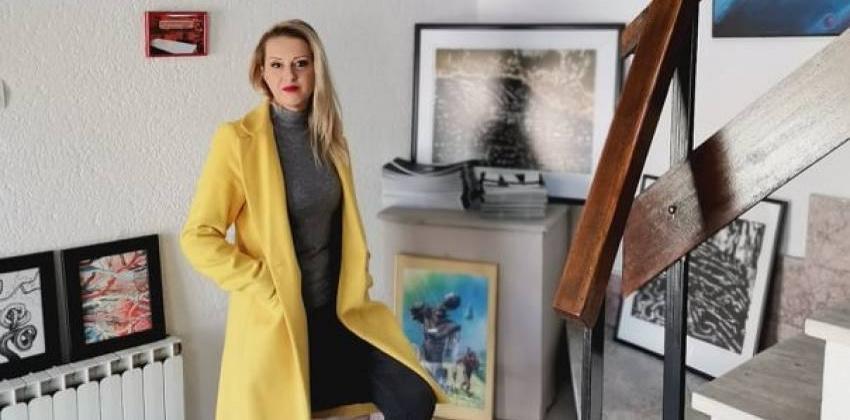 Нела Петровска е новиот претседател на Друштвото на ликовни уметници во Битола